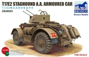 BRONCO ZB 48002 - 1:48 T17E2 Staghound A.A.