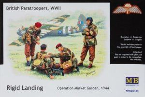 MASTER BOX 3534 - 1:35 British paratroopers, 1944. Kit 2