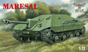 SOVA 72011 - 1:72 Maresal Romanian tank destroyer