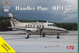 SOVA 72008 - 1:72 Handley Page HP.137
