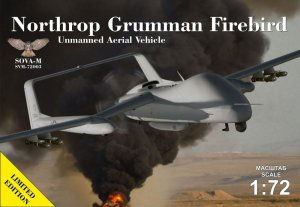 SOVA 72003 - 1:72 Northrop Grumman Firebird unmanned aerial vehicle - concept
