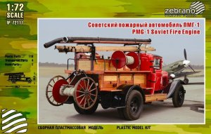 ZEBRANO 72111 - 1:72 PMG-1 Soviet Fire Engine