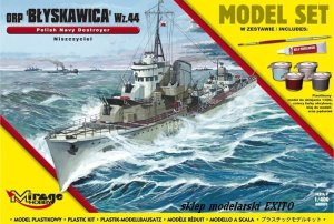 MIRAGE 840091 - 1:400 ORP Błyskawica wz. 44 - Model Set