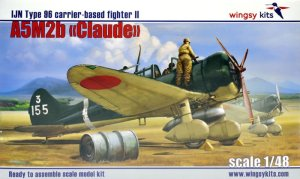 WINGSY KITS D5-03 - 1:48 IJN Type 96 carrier-based fighter II A5M2b Claude (early version)