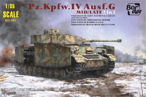 BORDER BT001 - 1:35 Pz.Kpfw.IV Ausf.G Mid / Late