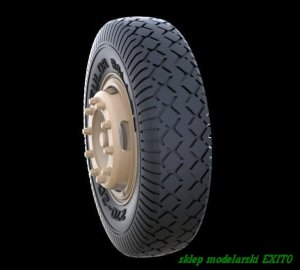PANZERART 35244 - 1:35 Road Wheels for Mercedes 4500 (Early Pattern)