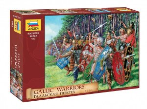 ZVEZDA 8012 - 1:72 Gallic Warriors