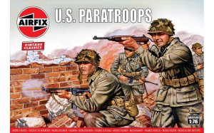 AIRFIX 00751V - 1:76 WWII US Paratroops