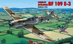 RPM 72012 - 1:72 Messerschmitt Bf 109 E-3 France 1940