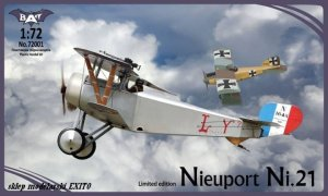 BAT 72001 - 1:72 Nieuport Ni.21 France