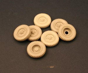 "PANZERART 35119 - 1:35 Road Wheels for ""Eingeistdiesel"" (Gelande tire)"