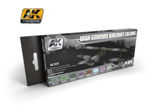 AK INTERACTIVE 2270 - WWI German Aircraft Colors - Air Series