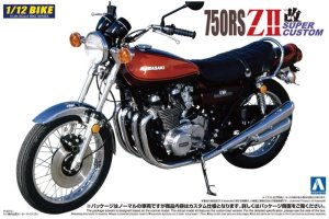 AOSHIMA 041789 - 1:12 Kawasaki 750RS ZII Super Custom