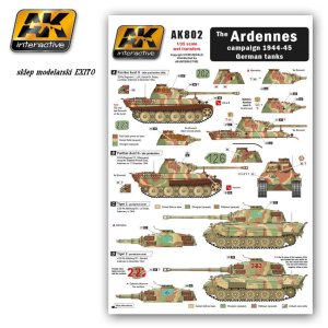 AK INTERACTIVE 802 - The Ardennes campaign 1944-45 German tanks