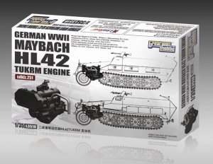 GREAT WALL HOBBY 3518 - 1:35 WWII German Maybach HL42 TUKRM Engine