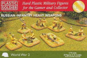 PLASTIC SOLDIER 20004 - 1:72 Russian Infantry Heavy Weapons