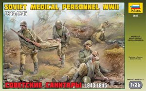 ZVEZDA 3618 - 1:35 Soviet Medical Personnel