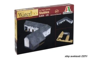 ITALERI 6176 - 1:72 La Haye Sainte - Stables - Waterloo 200 years series