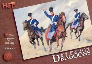 HAT 8002 - 1:72 Prussian Dragoons 1815