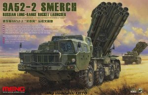 MENG MODEL SS009 - 1:35 9A52-2 Smerch Russian Long-Range Rocket Launcher