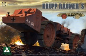 TAKOM 2053 - 1:35 Krupp Raumer S - WWII German Super Heavy Mine Clearing Vehicle