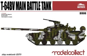MODELCOLLECT UA72023 - 1:72 T-64BV Main Battle Tank