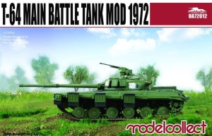 MODELCOLLECT UA72012 - 1:72 T-64 Main Battle Tank Mod 1972