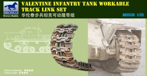 BRONCO AB 3536 - 1:35 Valentine Infantry Tank Workable Track Link Set