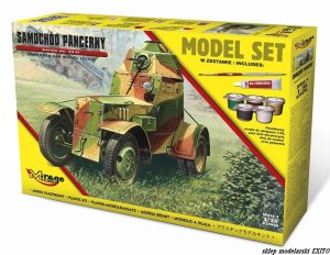MIRAGE 835096 - 1:35 Armoured Car wz. 34-II - Model Set