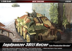 ACADEMY 13230 - 1:35 Jagdpanzer 38(t) Hetzer (Late Production)
