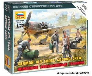 ZVEZDA 6188 - 1:72 German airforce ground crew