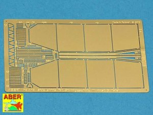 ABER 72A12 - 1:72 Side skirts for Sturmgeschutz III (Late model)
