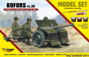 MIRAGE 835061 - 1:35 Bofors wz. 36  - Model Set