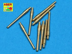 ABER 1:700L-12  - 1:700 Set of 9 pcs 406 mm short barrels for ships: North Carolina, Washington