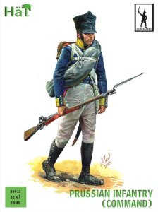 HAT 28015 - 28 mm - Prussian Infantry (Command)