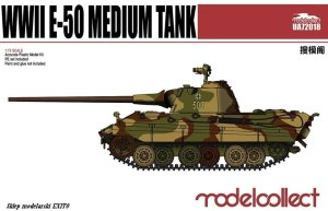 MODELCOLLECT UA72018 - 1:72 WWII E-50 Medium Tank
