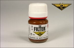 MIG P406 - Brown Filter for White-Yellow Camo