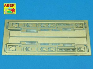 ABER 48005 - 1:48 Fenders for Stug.III Ausf.B and Pzkpfw.III Ausf.L