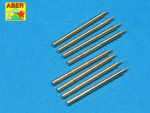 ABER A32109 - 1:32 Set of 8 cal .50 (12,7mm) U.S. Browning M2 barrels for P-47 Thunderbolt