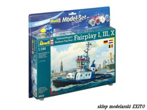 REVELL 65213 - 1:144 Harbour Tug Boat Fairplay