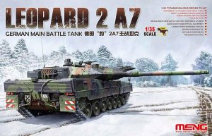 MENG MODEL TS027 - 1:35 German Main Battle Tank Leopard 2 A7