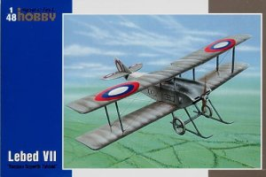 SPECIAL HOBBY 48071 - 1:48 Lebed VII Russian Sopwith Tabloid