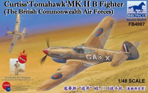 BRONCO FB 4007 - 1:48 Curtiss Tomahawk Mk.IIB