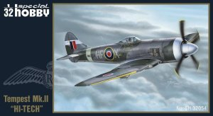 SPECIAL HOBBY 32054 - 1:32 Hawker Tempest Mk. II (Hi-tech kit)