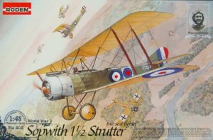 RODEN 402 - 1:48 Sopwith 1 1/2 Strutter two-seats fighter