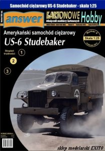 ANSWER KH1307 - 1:25 US-6 Studebaker