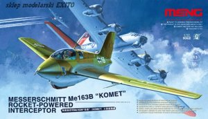 MENG MODEL QS001 - 1:32 Messerschmitt Me163B Komet Rocked-powered Interceptor