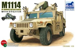 BRONCO CB 35080 - 1:35 M1114 Up-Armored Tactical Vehicle