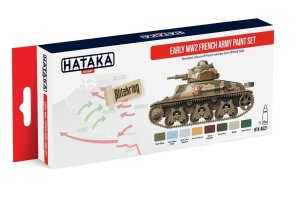 HATAKA AS21 - Early WW2 French Army paint set