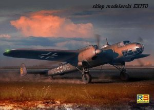 RS MODELS 92072 - 1:72 Dornier Do 17F